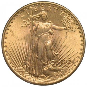 $20.00 Saint Gaudens Gold Double Eagle Coins - Random Dates - BU