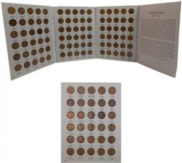 1909-1940 90-Coin Lincoln Wheat Cent Coin Set - VG or Better