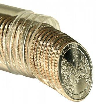 2011 Chickasaw P or D Mint Quarter Rolls