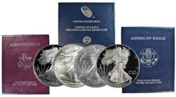 1986-2019 67-Coin Complete 1 oz American Silver Eagle Coin Set - 34 Gem BU Coins & 33 Gem Proofs w/ OGP