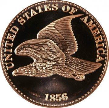 1 oz Copper Round - 1856 Flying Eagle Cent Design