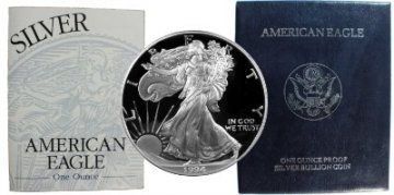 1994-P 1 oz American Proof Silver Eagle Coin - Gem Proof