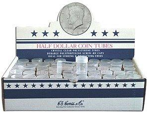 Half Dollar Coin Tube