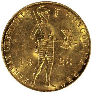 Netherlands Gold 1 Ducat Coin - Random Date - Brilliant Uncirculated