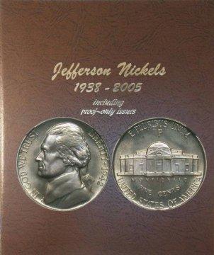 1938-1964 71-Coin Jefferson Nickel Coin Set - BU