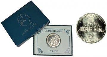 1982 Washington Commemorative Silver Half Dollar Coin (UNC)