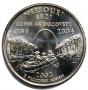 2003 Missouri State Quarter Coin - P or D Mint - BU