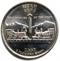 2007 Utah State Quarter Coin - P or D Mint - BU
