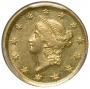 $1.00 Liberty Head Type One Gold Coins - Random Date - AU