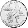 2009 Guam Territory Quarter Coin - P or D Mint - BU