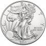 2014-W 1 oz American Burnished Silver Eagle Coin - Gem BU (w/ Box & C.O.A.)