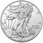 2015-W 1 oz American Burnished Silver Eagle Coin - Gem BU (w/ Box & C.O.A.)