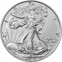 2021 1 oz American Silver Eagle Coin - Type 2 - Gem BU