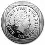 2021 Niue 1 oz Silver $2 Athenian Owl Stackable Coin - Gem BU
