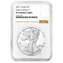 2021-S 1 oz Proof American Silver Eagle Coin - Type 2 - NGC PF-70 Ultra Cameo Brown Label