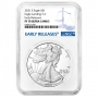 2021-S 1 oz Proof American Silver Eagle Coin - Type 2 - NGC PF-70 Ultra Cameo Early Releases