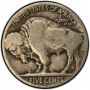 Buffalo Nickel 40-Coin Rolls - Dateless/Cull/Low Grade