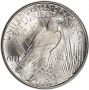 1923-D Peace Silver Dollar Coin - Brilliant Uncirculated (BU)