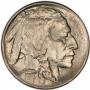 1913 Buffalo Nickel Coin - Type 1 - Choice BU