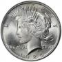 1925 Peace Silver Dollar Coin - Brilliant Uncirculated (BU)