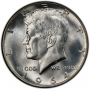 1964 90% Silver Kennedy Half Dollar Coin - Choice BU