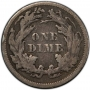 1800's Seated Liberty Silver Dime Coin - Random Dates - Fine