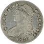 Early 1800's Bust Silver Half Dollar Coin - Random Dates - VF