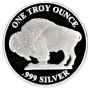 1 oz Silver Round - Buffalo Design