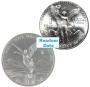 1 oz Mexican Silver Libertad Coin - Random Dates - BU