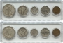 Five Coin Standing Liberty Silver Type Set