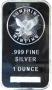 1 oz Silver Bar - Sunshine Minting - (Mint Mark SI™)